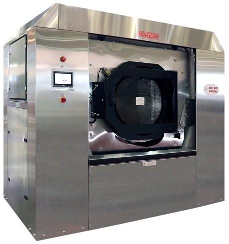 Стирально-отжимная машина для стирки и отжима грязезащитных резиновых ворсовых ковров